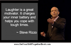 Humorous Motivational Speaker Steve Rizzo