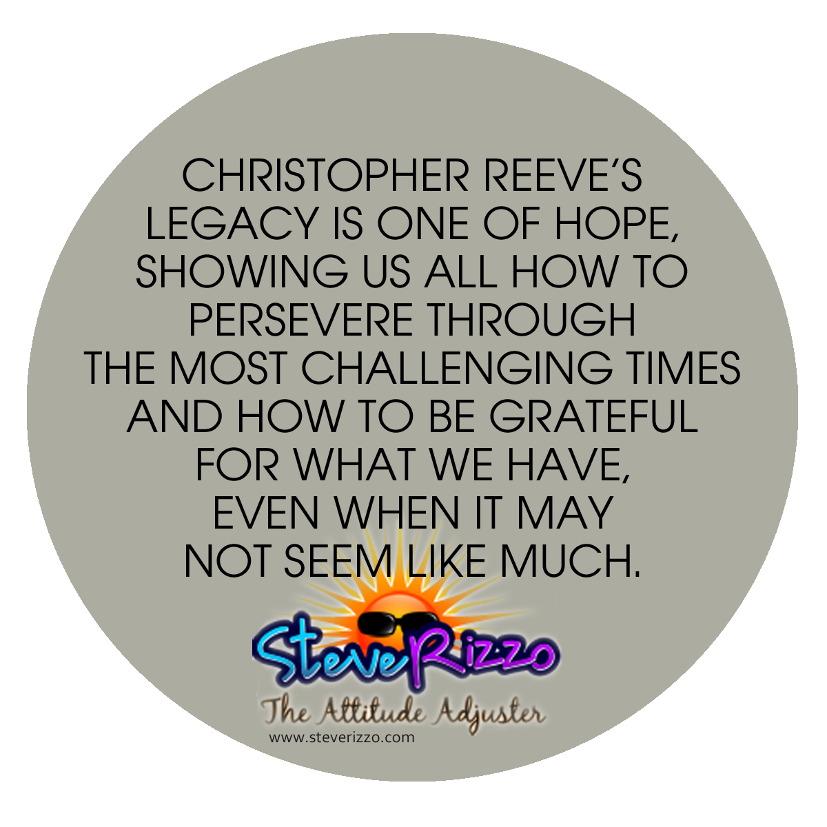 the reasons why christopher reeve is a true hero