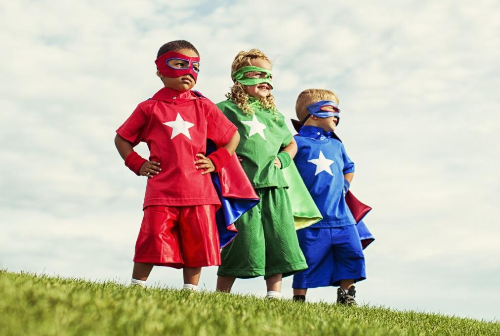 superhero kids day - The Day I Became a Superhero