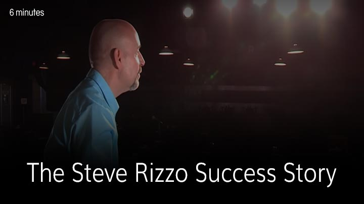 Don't Let the Laughter Fool You: The Steve Rizzo Success Story