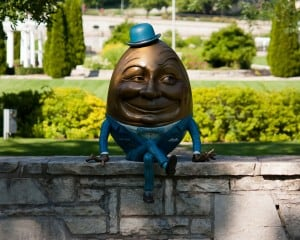 humpty 300x240 - Laugh in the Face of Fear: Humor Being to the Rescue!