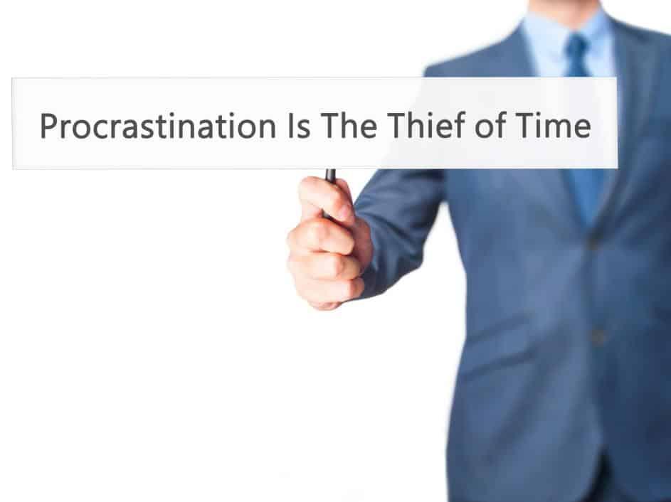 3 Easy Steps to Overcoming Procrastination