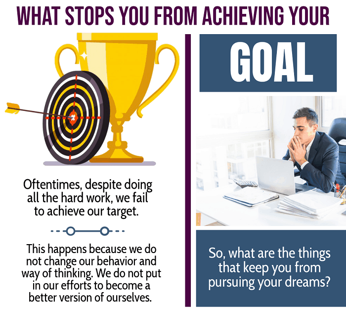 What stops you from achieving you goal