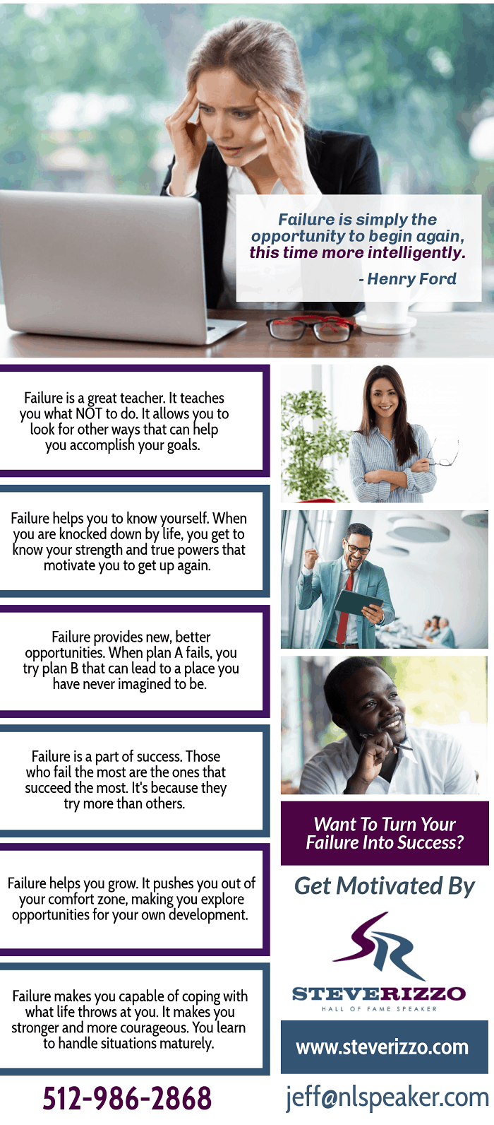 Failure is simply the opportunity to begin again - How Failure Takes You One Step Closer To Success